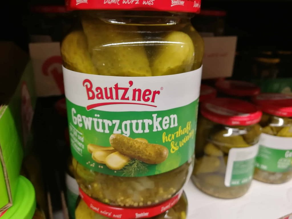 Keto-Snacks Kaufland Gurken