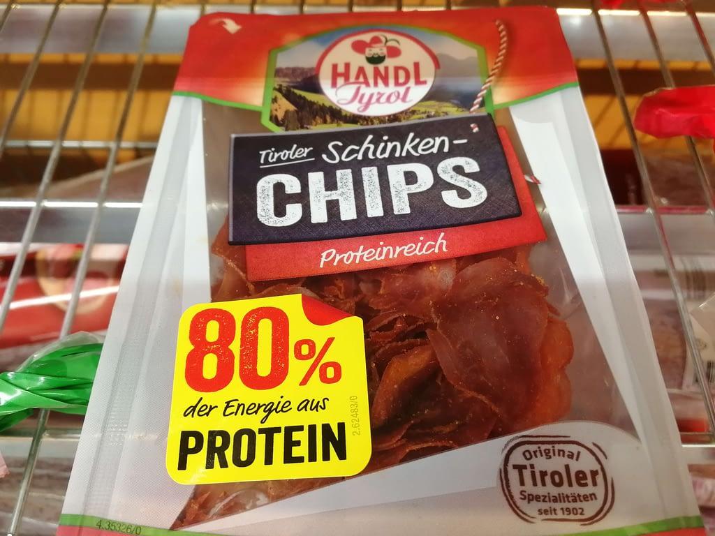 Keto-Snacks Kaufland Schinken-Chips
